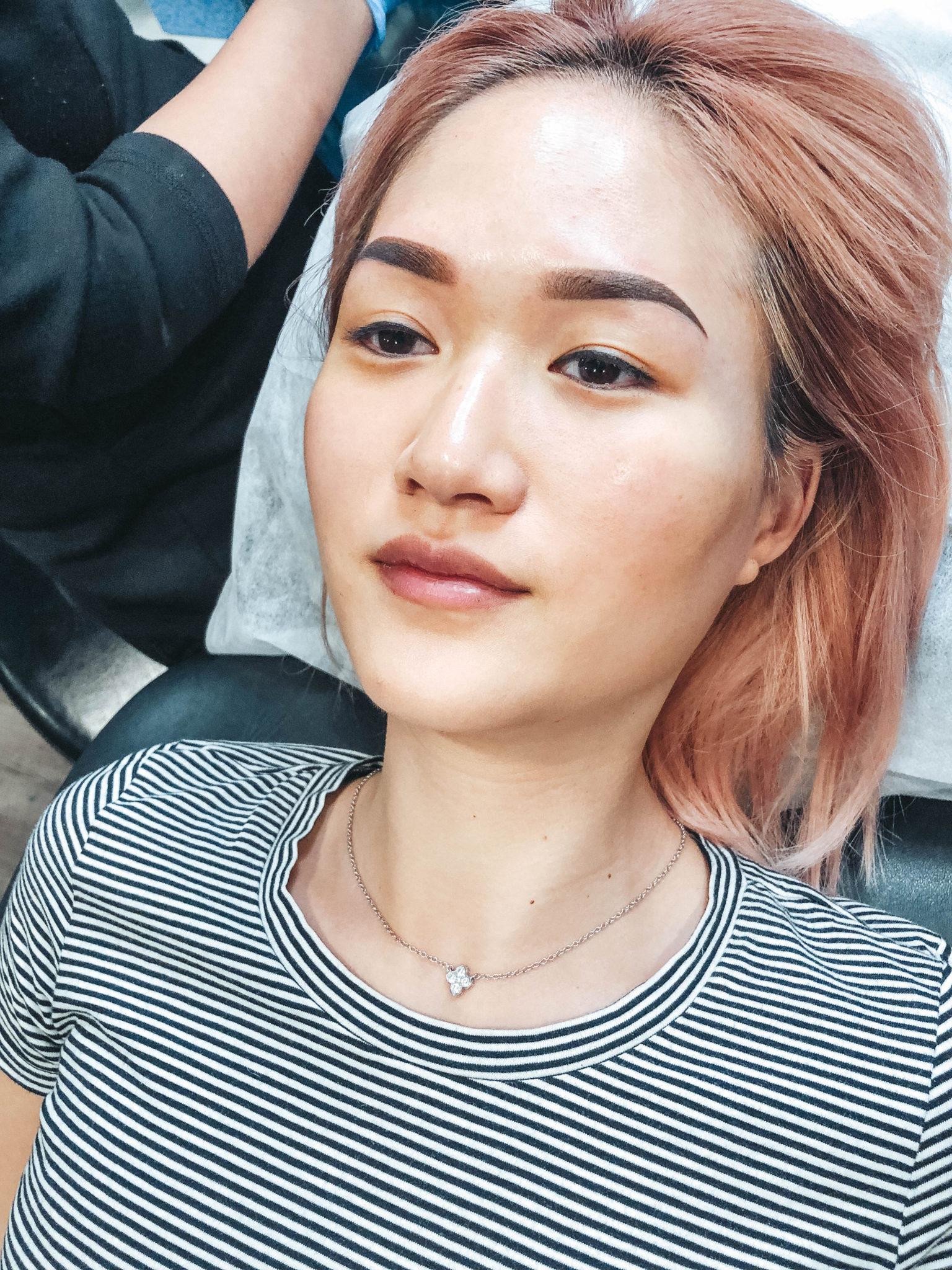 Semi Permanent Makeup Eyebrow Tattoo